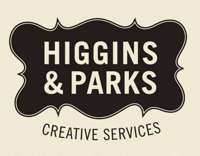 Higgins and Parks Branding