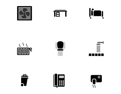 Set icons for hospital app