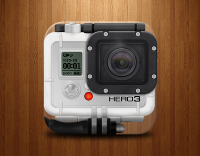 GoPro HERO3 iOS App Icon