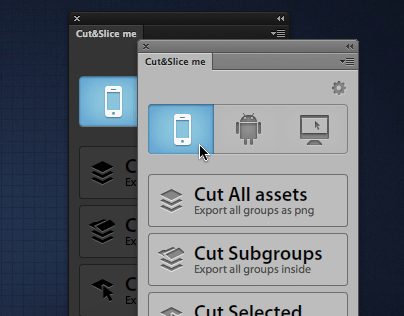 Cut&Slice me - Photoshop plugin