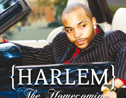 Harlem Hip Hop CD Booklet, Tray, and CD Art Work