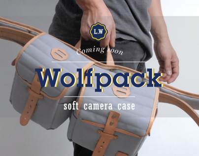 Wolfpack / Soft Camera Case by Lonewolf Goods