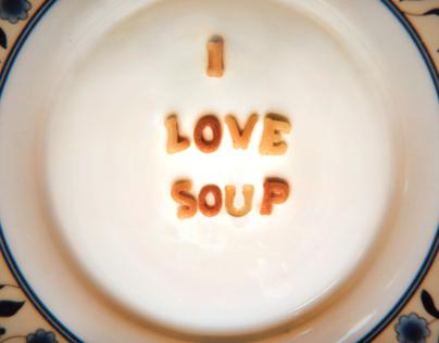 I Love Soup Alphabet
