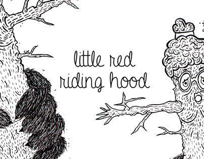 Illustration Little Red Riding Hood