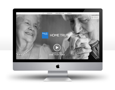 Bupa Home Truth - Award entry site