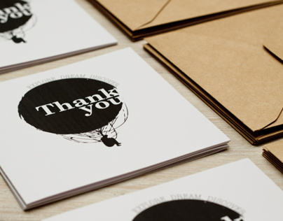 MR. PRAGUE - THANK YOU CARD