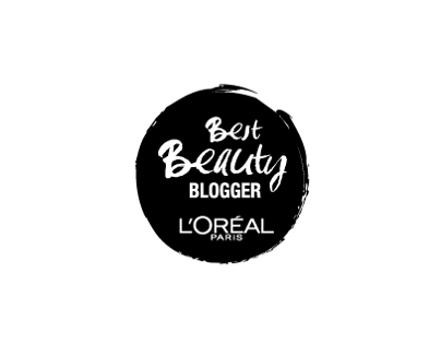 Loréal Best Beauty BLOGGER logo