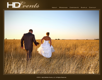 High Definition Events Website