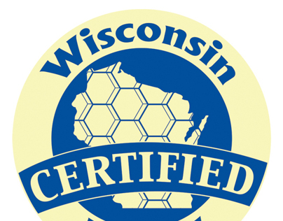 Wisconsin Certified Honey Sticker