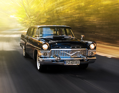 GAZ-13 Chaika - automotive photography