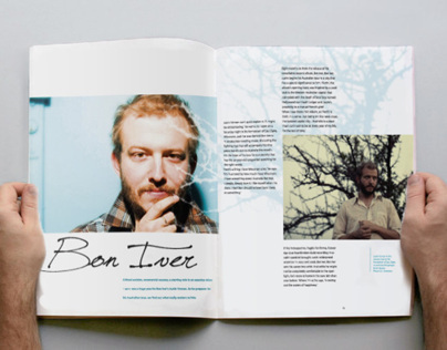 Inside Indie Magazine Layout