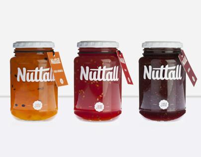 Nuttall Jam Packaging