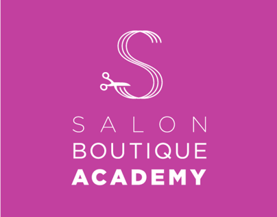 Salon Boutique Academy Identity