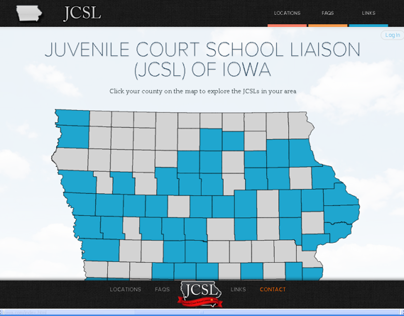 Iowa Juvenile Court School Liaison (JCSL) Site