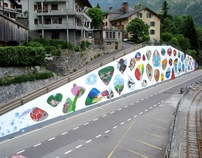 Finhaut // World's Biggest Graffiti