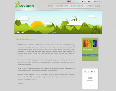 Environ LLC Web Design
