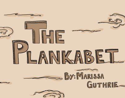 The Plankabet-Alphabet book