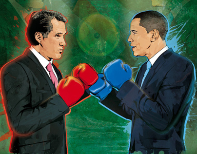 Obama Vs Romney-Face Off Fund Strategy magazine