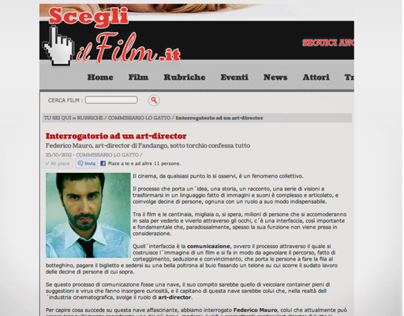 Scegli il Film.it - Interview