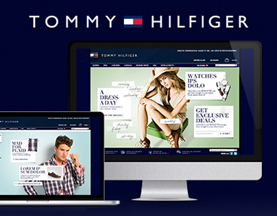 Tommy Hilfiger - Various campaigns & Newsletters