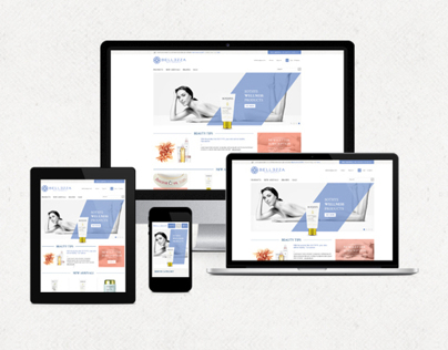 Bellezzas responsive e-commerce