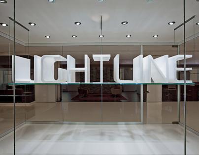 KI Furniture Showroom Typographic Treatments