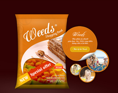 Weeds Foods |  Designed by Weeds Brand