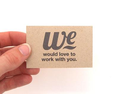 We creatives © corporate identity