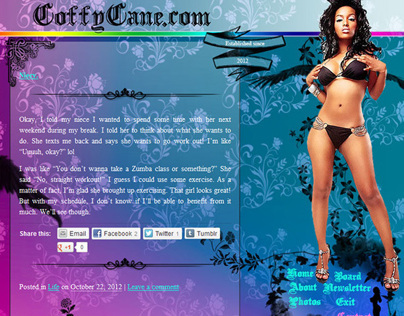 CoffyCane.com: Angel