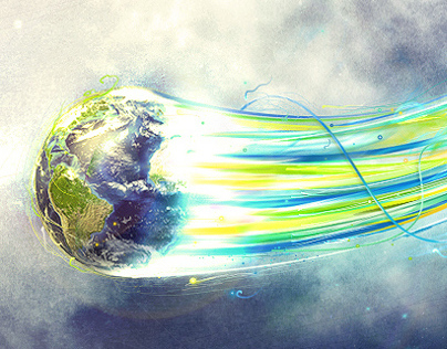 Flying Earth