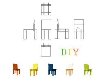 DIY IKEA Chair