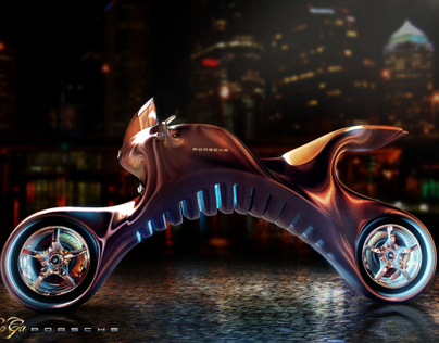 Porsche Electric Motorcycle Concept