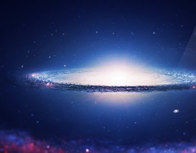 Wallpaper Sombrero Galaxy