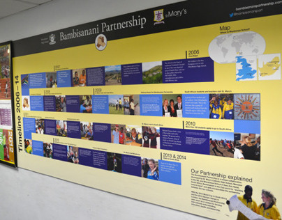 Bambisanani Partnership Timeline Display