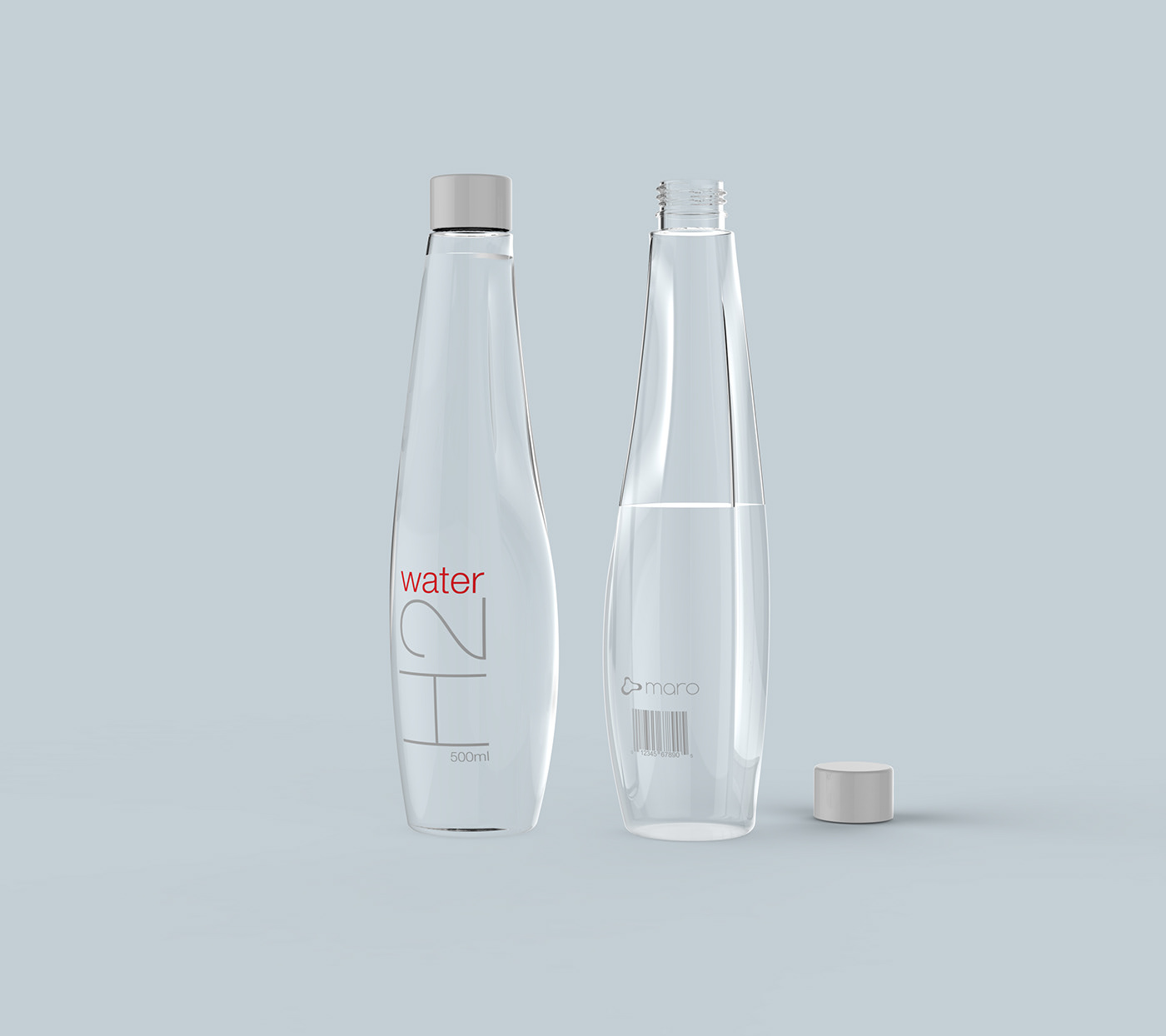 H2 Water Bottle