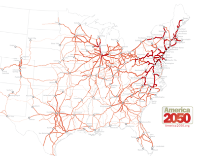 America 2050: Transportation Maps