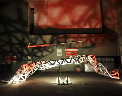 Installation for LUXcity (FESTA), Christchurch, NZ