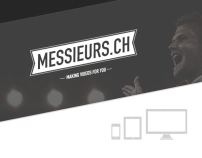 Messieur.chs website | Making videos for you