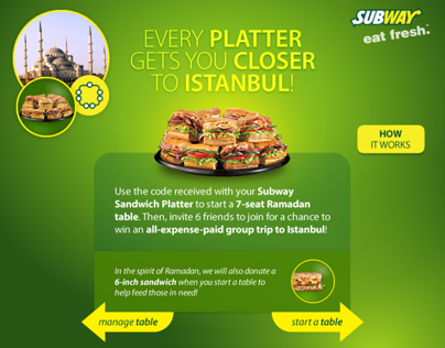 Togetherness Is Only Inches Away - Subway Arabia