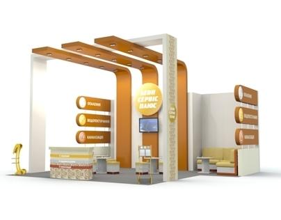 Booth design for Leon-Service plus, Aqua Therm 2012