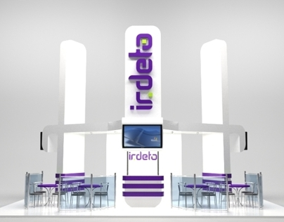 Booth design for Irdeto