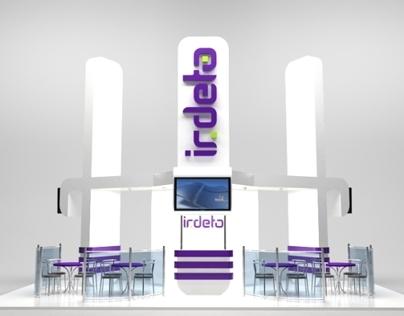 Booth design for Irdeto