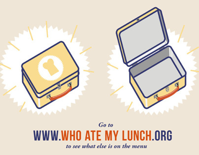 Who Ate My Lunch? / Infographic Video