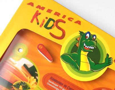 Cardapio Kids Restaurante America