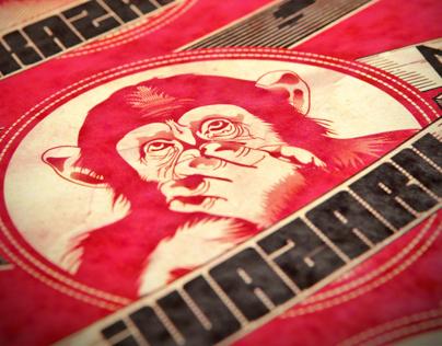 3 Wise Monkeys  x garavato