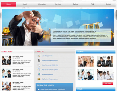 Website Templates Proposal | Singapore