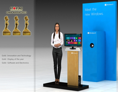 Windows 8 Virtual Mannequin