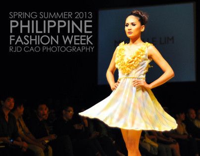 PHILIPPINE FASHION WEEK SPRING SUMMER 2013:MICHELLE LIM