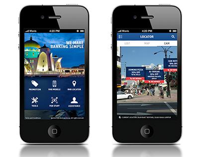 RHB iPhone App Concept Mocks