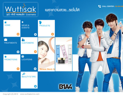 WUTTISAK CLINIC WEBSITE (Thailand)